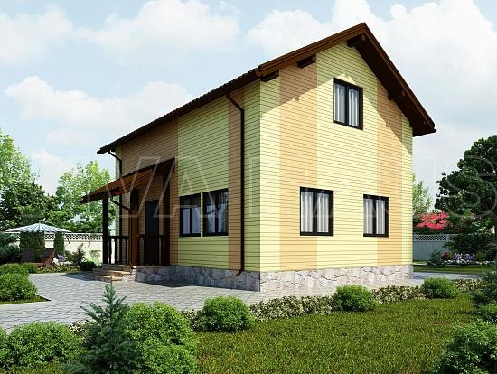Проекты энергоэффективных СИП домов