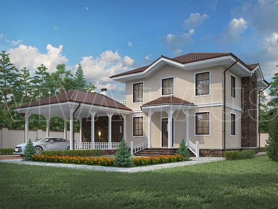 Проекты каркасных сип домов